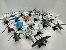MAISTO Diecast Military Airplanes And Helicopters Lot