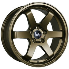 "Alloy Wheels 17"" Bola B1 Bronze For Ford Fiesta ST [Mk1] 12-17"