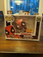 Funko Pop! 320 Marvel Deadpool Diamond Collection Hot Topic Exclusive