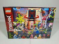 Lego Ninjago Masters of Spinjitzu Gamer's Market 71708 Set NEW