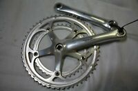 Campagnolo Mirage Aluminum Crankset  2x53/39 Made in Italy 170mm 9/16'' Ships US