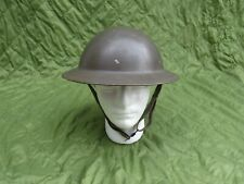 Post WWII Dutch Helmet with liner and chinstrap 1956 Dated