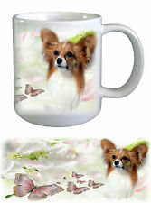 Papillon Dog Ceramic Mug PAP-2 by paws2print
