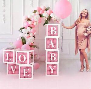 Birthday Decorations, letter box, Ballon letter block. Party, Anniversary, Bride