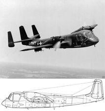 Grumman OV-1 Mohawk 1970's  Service Parts Manual period schematics RARE Vietnam