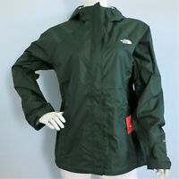THE NORTH FACE Venture Women's Rain Jacket SCARAB GREEN MSRP $99