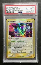 Pokemon PSA 8.5 Gyarados Holo Ex Holon Phantom #8/110 MINT