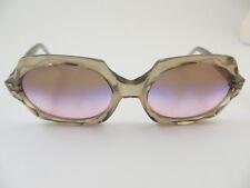 Vintage Silver Color Elegent Frame made in France New Sunlenses