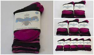 Bombas Women's Black and Pink Crew Socks 1/ 2/ 3/ 5 Packs NWT