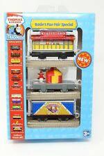 THOMAS AND FRIENDS TRACKMASTER ROSIE'S FUN FAIR SPECIAL TRAIN CARS TOY