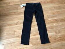 Calvin Klein Women's Jeans Size 6X32 Dark Wash Solid Ultimate Skinny Button