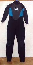 WEST Enforcer Black & Blue Full Surfing Wet Suit Men's Size 3.2 Large 14