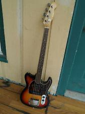 Rare ! Vintage 1980 Hohner Prince Madcat Bass version Guitar Telecaster Artist