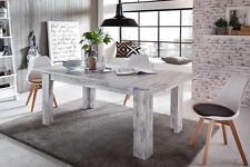 BRAND NEW RRP £699 Furnline Vintage Retro Canyon Extendable Dining Table - Pine