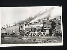 RPPC Real Photo Postcard Erie Railroad No. 4124 R2 Train Locomotive Port Jervis