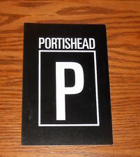 "Portishead ""P""  Postcard Promo 6x4 RARE"