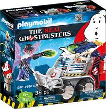 "Playmobil 9386 Ghostbusters�""� Spengler mit Käfigfahrzeug NEU OVP"