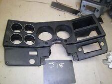 1973 1987 CHEVROLET GMC C10 K10 k30 BLAZER BLACK DASH CLUSTER SPEEDOMETER BEZEL