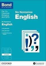Bond 11+: 7-8 Years: No Nonsense English New Paperback Book Frances Orchard