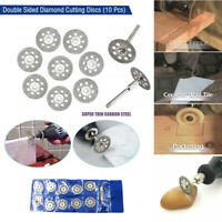 10PCS Double Sided Diamond Cutting Discs Set Tool Replacement HOT SALE