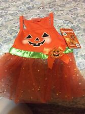 Simply Dog Pumpkin Dress Size XS