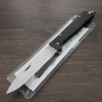 """OTTER-Messer Mercator Folding Knife 3.2"""" Satin Finish Blade Stainless Handle"""