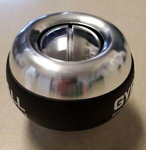 hand strengthener--crush ball metal-best quality metal gyro ball-powerball
