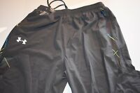 UNDER ARMOUR Team Mens All Season Gear Regular Fit Track Pants Gray Size L