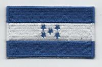 Embroidered HONDURAS Flag Iron on Sew on Patch Badge HIGH QUALITY APPLIQUE