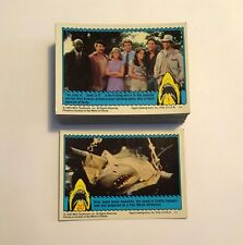 Jaws 3D Vintage Complete Trading Card Set - Topps 1983 M/NM