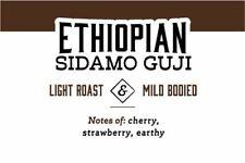 Ethiopian Sidamo Guji | 72 K-Cups, 2.0 Compatible | Fresh Roasted Coffee