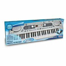 Tastiera 165415 Music academy Bontempi Con 54 tasti e Porta Usb