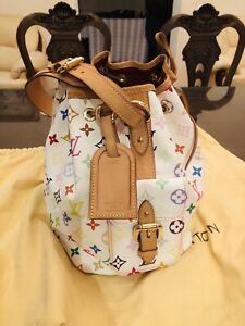 Louis Vuitton Petit Noe M42229 Shoulder Bag Drawstring Monogram Multicolor