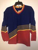 Vintage St Louis Blues NHL CCM Youth Hockey Jersey Size S/M Blank