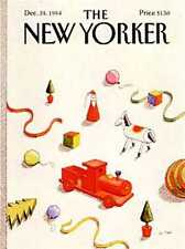 New Yorker COVER 12/24/1984 - Christmas Toys - LE TAN