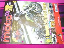 Fascicule Moto Joe Bar Team n°61 Triumph 675 Street Triple Yamaha YBR125 LORENZO