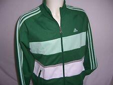 VESTE Sweat zippé adulte ADIDAS Track Top neuf taille L coloris vert - blanc