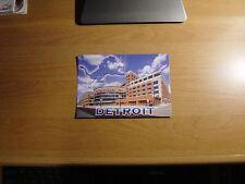 Ford Field Stadium Postcard Detroit Lions