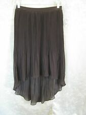 Worthington High-Low Hem Skirt Size Medium Pleated Sheer NWT NEW