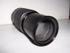 SMC PENTAX-M 1:4.5 80-200mm Telephoto Zoom Lens + Filter + Caps PK Mount (mint)