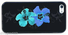SmartPhone Custom Cover Case Scuba Diving Dive Blue Hibicus iPhone 5 HT0312