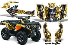 Can Am AMR Racing Graphics Sticker Kits ATV CanAm Outlander SST Decals 2012 MHYB