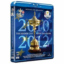 Ryder Cup Official Ultimate Collection 2010 - 2012 [Blu-ray] NEU Golf USA Europa