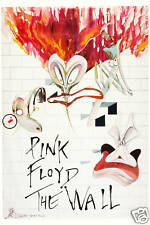 Pink Floyd * The Wall * USA Alternate Movie Poster LARGE FORMAT 24x36