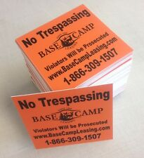 Personalized POSTED / KEEP OUT Private Property marking signs - Hunting / Ranch