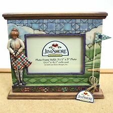 Jim Shore Golf Picture Frame Heartwood Creek Woman Golfer