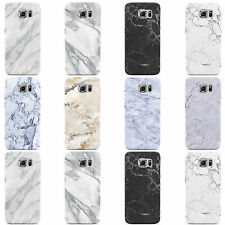 DYEFOR FAUX MARBLE EFFECT RANGE HARD CASE COVER FOR SAMSUNG GALAXY MOBILE PHONES