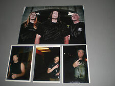 Dying Fetus signed autograph Autogramm 8x11 inch photo in person