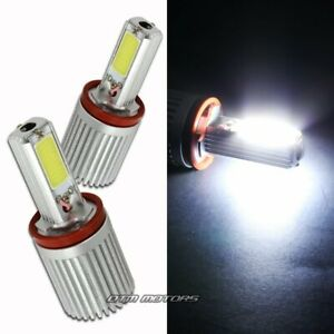 1x Pair Audi Acura Buick Cadillac BMW H11 40W COB Chips On Board White Bulbs