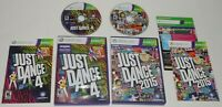 Just Dance 2015 and Just Dance 4 Xbox 360 TESTED SAME DAY SHIPPING
